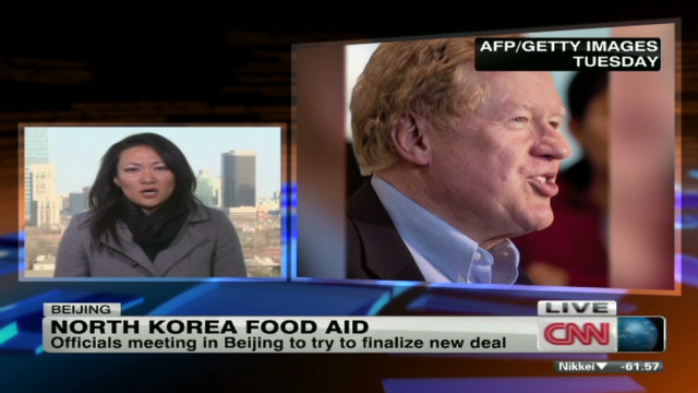 U.S. food aid heading to North Korea
