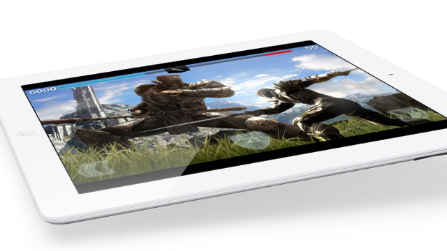The new iPad's high-resolution screen and more powerful processor make it better suited to playing video games.