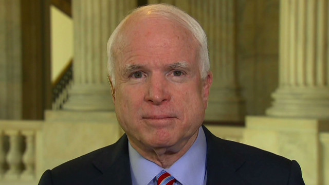 McCain: Assad takedown big blow to Iran