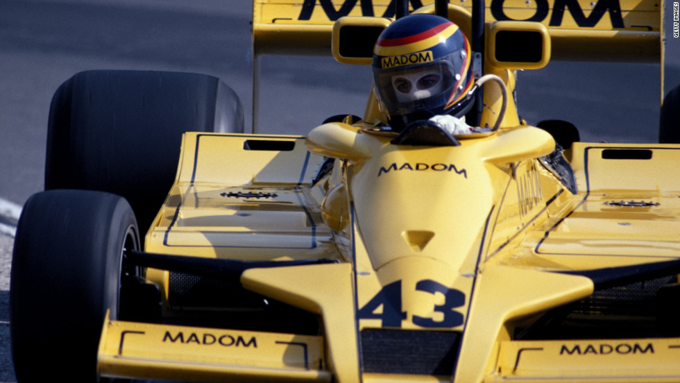 He entered 15 Formula One races between 1976 and 1982, but qualified to start only two of them with a best finish of 13th.