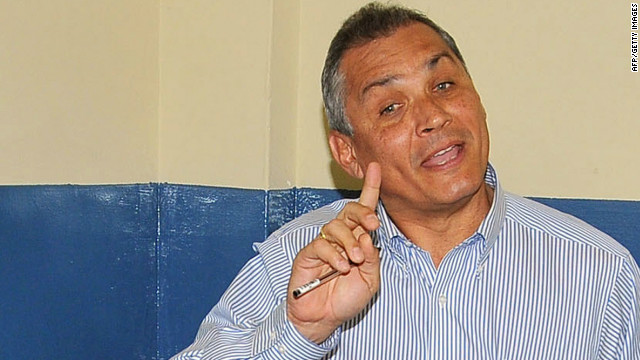 Fabricio Correa, seen here in 2011, says his aim is to defeat his younger brother, Rafael Correa, in elections.