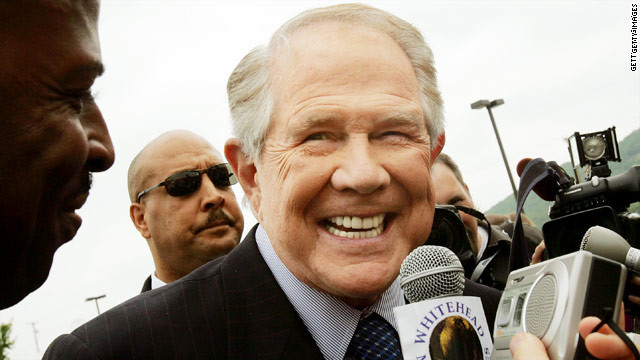 Pat Robertson wants pot legalized