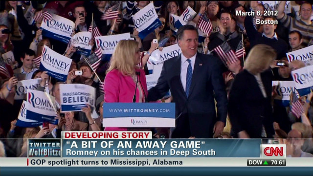 How will Romney fare in the South?