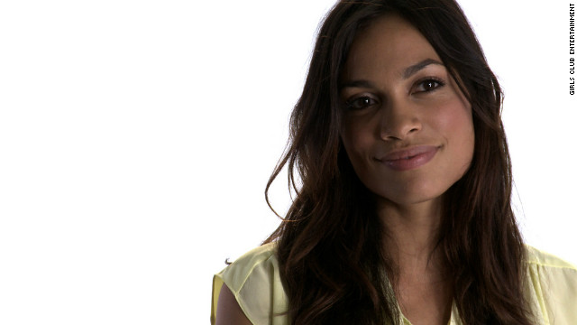 Actor Rosario Dawson appears in the film Miss Representation.
