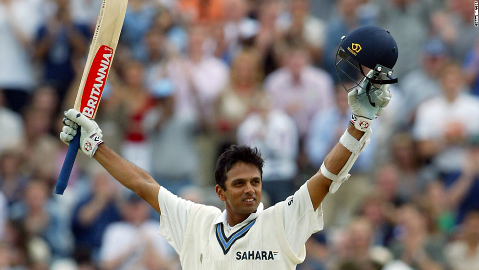 Dravid hit four centuries in four consecutive Tests in 2002, recording three against England before grabbing another in India's first match of a series against the West Indies.