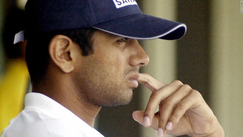Dravid's first Test as India captain came against New Zealand in Mohali in 2003, standing in for Ganguly. He endured a frustrating match as the team's leader, with India eventually rescuing a draw.
