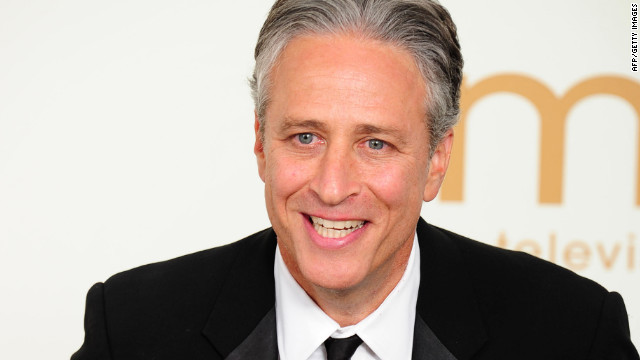 "Jon Stewart, host of ""The Daily Show."""