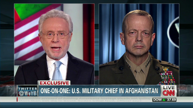 Gen. Allen: Soldier acted alone
