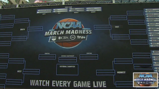 NCAA basketball's 'March Madness' begins
