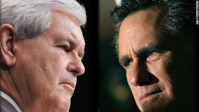 Gingrich vs. Romney over grits