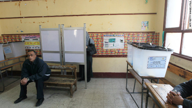 It appears voters in Egypt will have plenty of choices in the presidential voting that begins May 23.