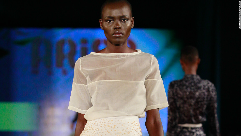 "Nigerian designer  Amaka Osakwe of Maki Oh was jointly named ""Designer of the Year,"" alongside Kluk CGDT."