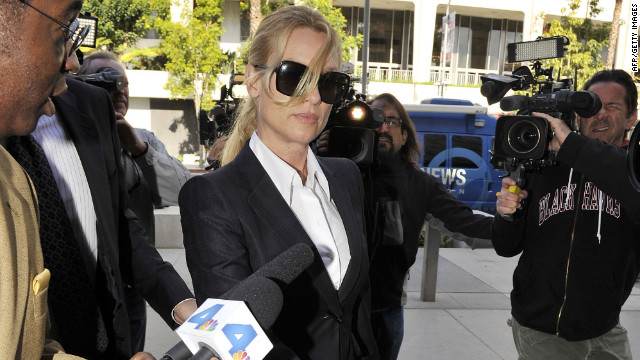 "Actress Nicollette Sheridan sued the ""Desperate Housewives"" creator and ABC for wrongful termination."