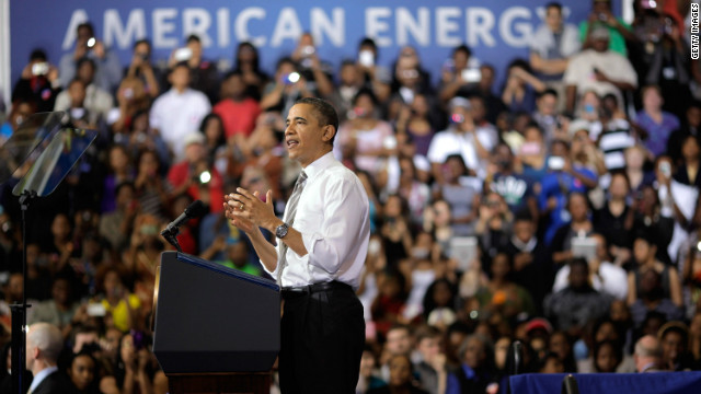 President Obama speaks about energy policy Thursday in Maryland.