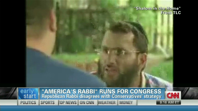 Rabbi Shmuley on celebrity culture