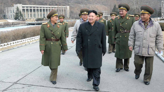 An undated picture of Kim Jong Un released by North Korea's Central News Agency on March 4, 2012.