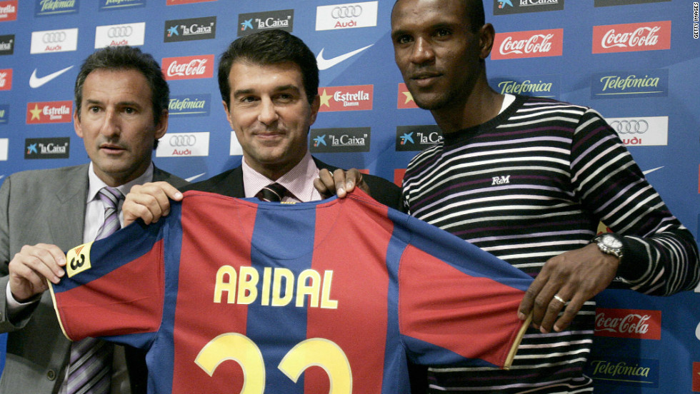 Abidal moved to the Camp Nou in 2007, having previously played for French champions Lyon, Lille and Monaco in his homeland. In January he signed a one-year contract extension until mid-2013.