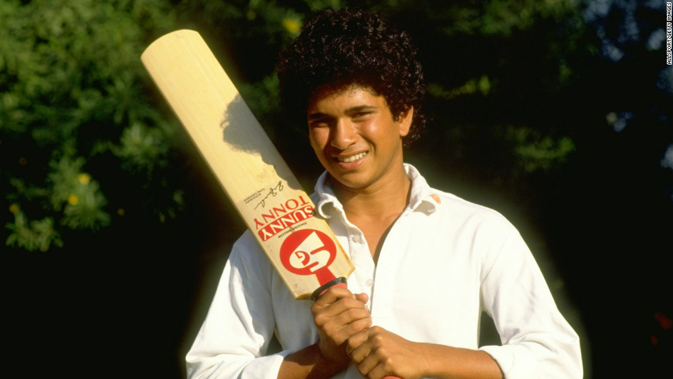 Having scored a triple century as a schoolboy, and then passing 100 on his first-class debut in 1988, Tendulkar made his international debut the following year at the age of 16 against Pakistan.