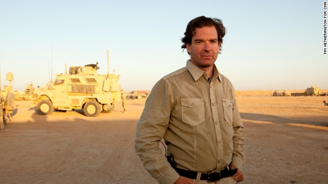 Peter Bergen during coverage of CNN's Anderson Cooper 360 on location in Afghanistan