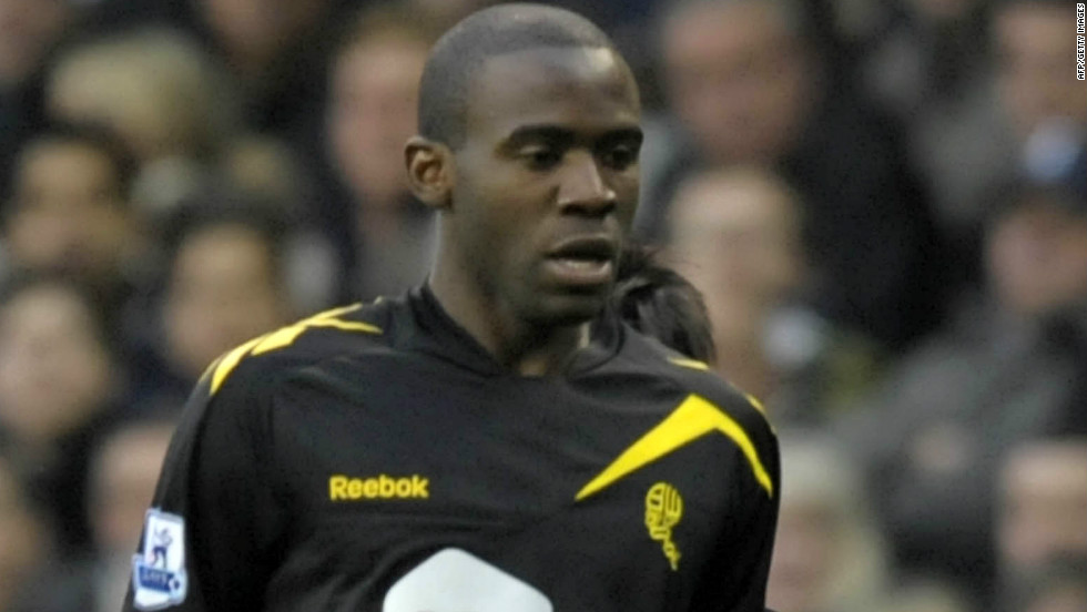 Muamba collapsed on the pitch just before halftime during the English FA Cup quarterfinal at Tottenham Hotspur on March 17, suffering a cardiac arrest before being brought back to life.