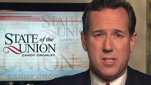 Santorum: Presidency is not a business