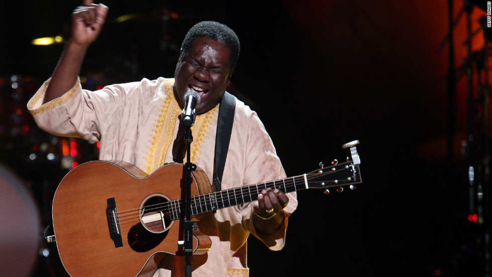 South African singer and songwriter Vusi Mahlasela is another musician to have collaborated with Playing for Change.
