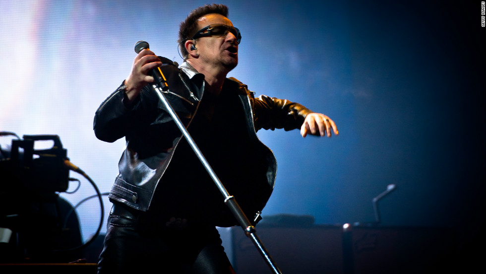 Bono, the Irish singer of multi-million selling group U2, is also involved in the cause.