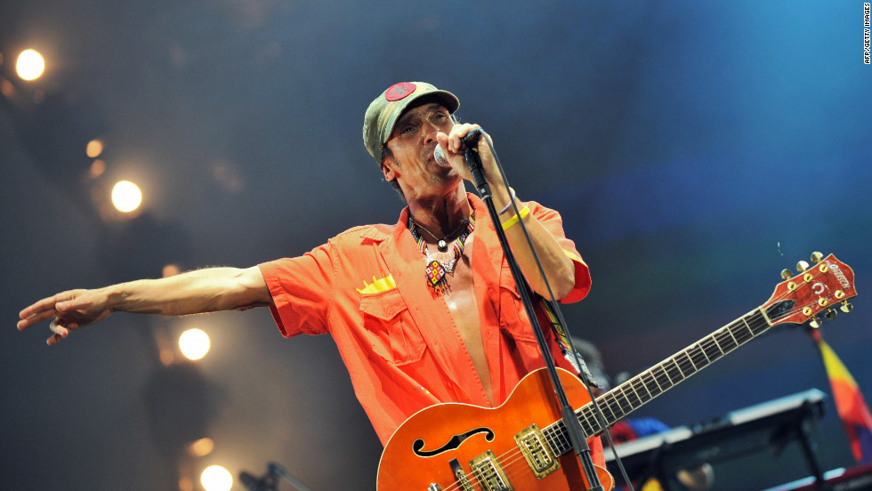 Singer and songwriter Manu Chao is one of the famous artists to be included in the Playing for Change roster.