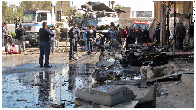 A militant group with al Qaeda links claim responsibility for a deadly wave of bombings across Iraq on Tuesday March 20.