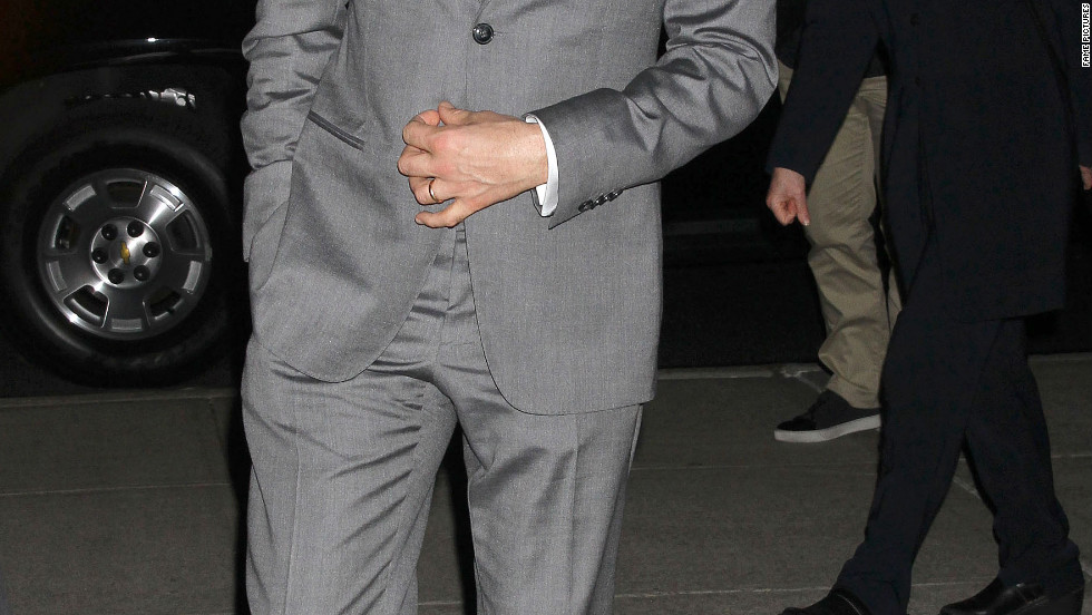 Clive Owen attends a screening in New York City.