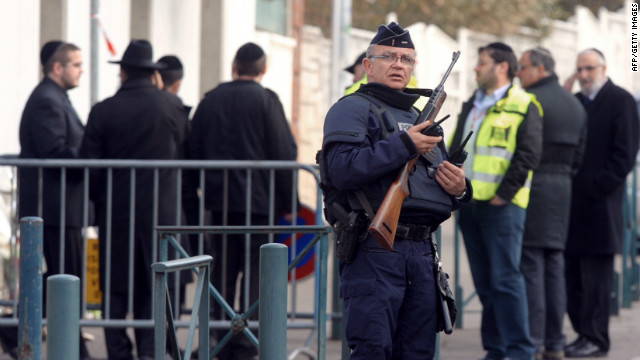 Toulouse put on high security alert