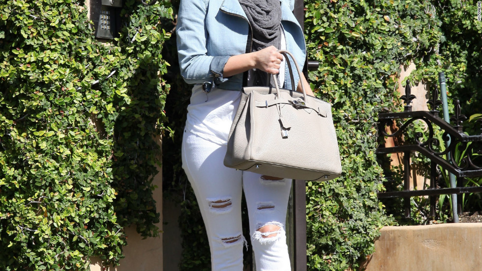 Kim Kardashian leaves her home in Calabasas.