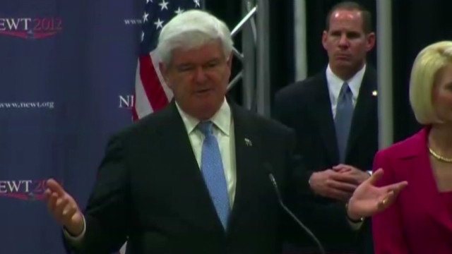 Gingrich: Santorum didn't mean it