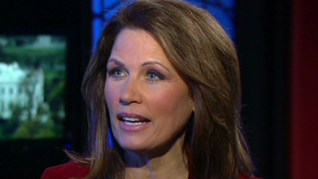 Bachmann: I will back whoever is nominee
