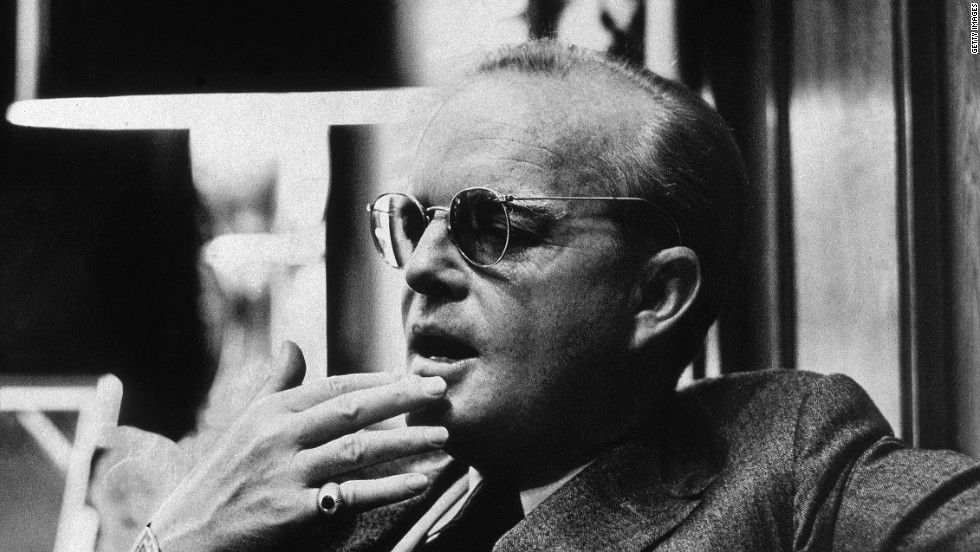 "Truman Capote: The famed author invented scenes and dialogue for his best-selling book ""In Cold Blood,"" which he described as a ""nonfiction novel."""