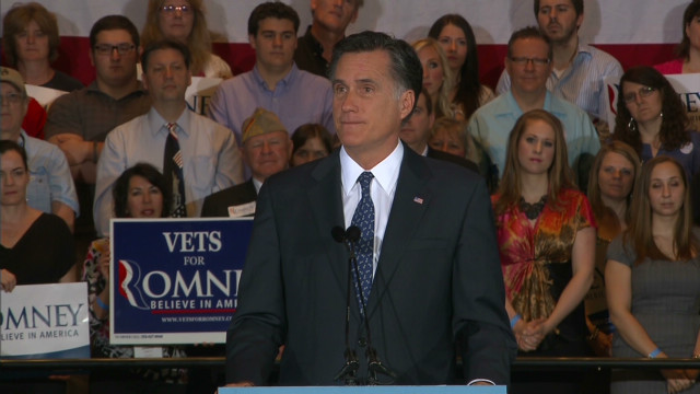 Romney: I can get us out of this mess