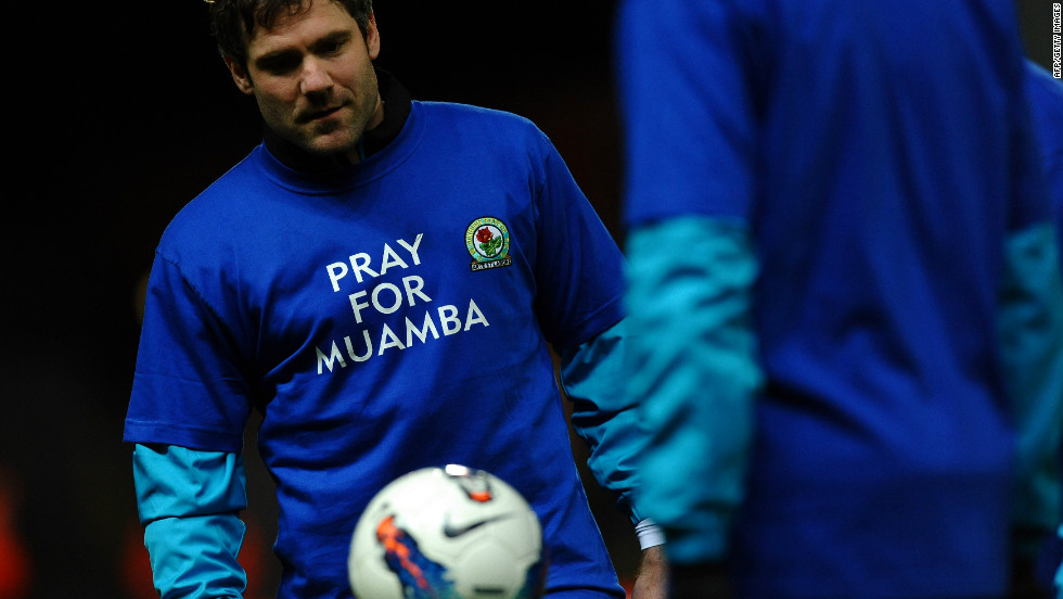 Bolton announced Thursday they will fulfill their Premier League fixture with local rivals Blackburn on Saturday after postponing the midweek clash with Aston Villa. Before Blackburn's win over Sunderland on Wednesday their players offered messages of support for Muamba.