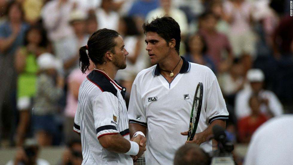 Philippoussis reached the first of his two grand slam finals in 1998, when he was beaten by compatriot Pat Rafter at the U.S. Open.