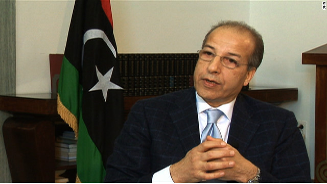 Saddek Omar Elkaber, governor of the Libyan Central Bank, talks to CNN about restarting Libyan economy.