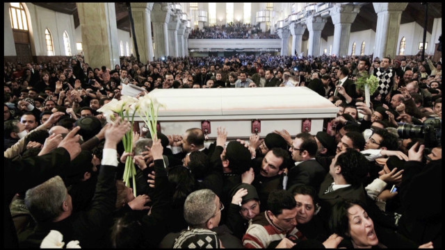Egypt's Coptic Pope laid to rest