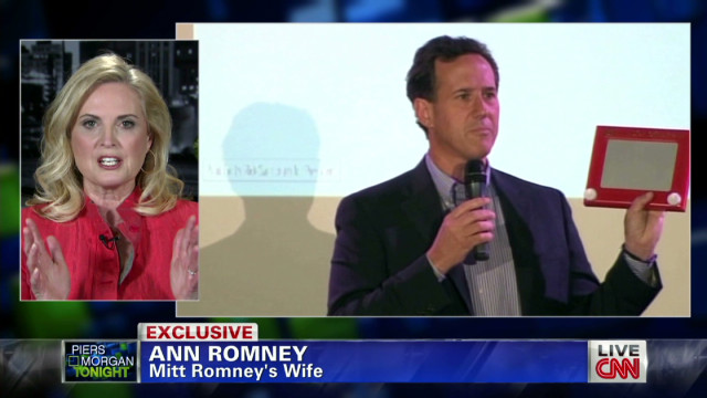 Ann Romney on the Etch A Sketch comment