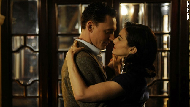 "Tom Hiddleston and Rachel Weisz star in ""The Deep Blue Sea."""