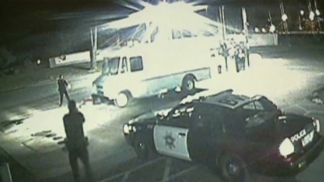 Police: Bread truck used to steal gas