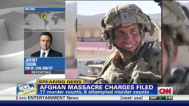 Charges filed in Afghan massacre
