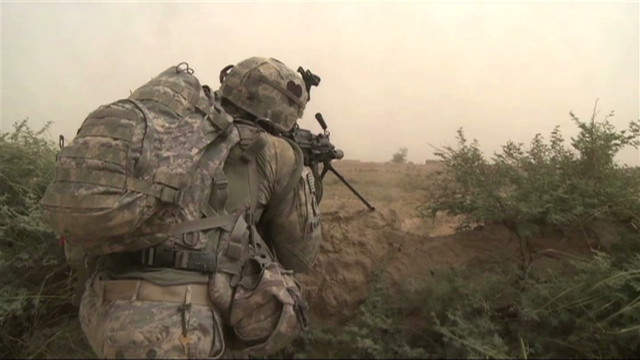 How many U.S. troops in Afghanistan?