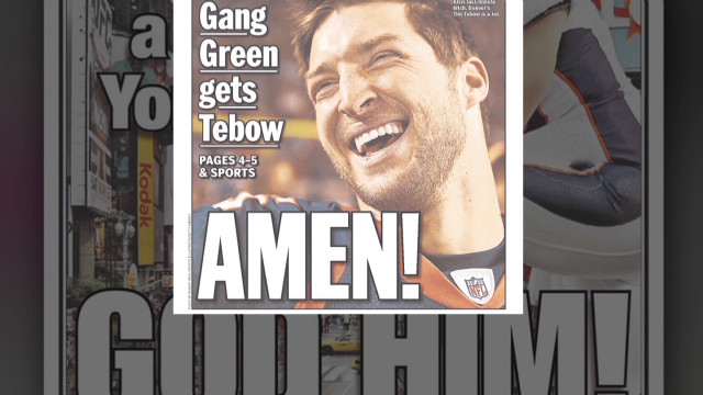 Tebow too nice for New York City?