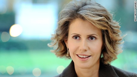 Syrian first lady Asma Assad is being treated for breast cancer