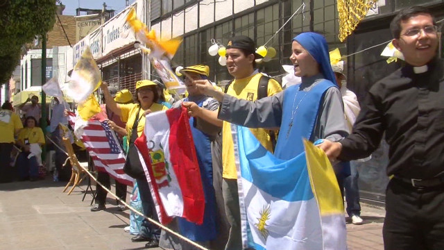 Young Catholics place hopes on pope
