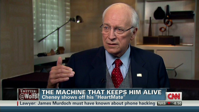 Cheney speaks about heart troubles