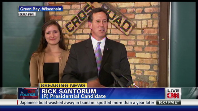 Santorum after win: Race far from over
